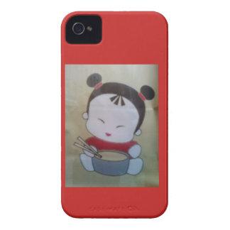 drittes Ringnudelmädchen Case-Mate iPhone 4 Hülle