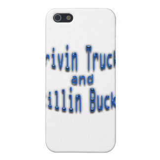 Drivin LKWs und Killin Dollars blau iPhone 5 Schutzhülle