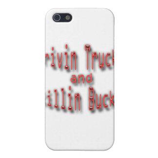 Drivin LKWs und Killin Dollars rot iPhone 5 Etui