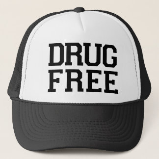 Droge geben Hut frei Truckerkappe