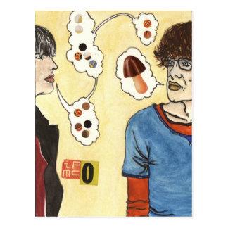 Drogen-Kultur-Postkarte Postkarte