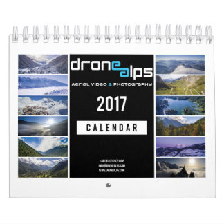 Drohne-Alpen 2017 Kalender