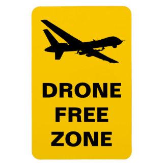 Drohne-Freihafengebiet Vinyl Magnete