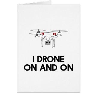Drohne I in einem fort quadcopter Karte