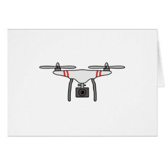 Drohne Quadcopter Fliegen-Front Karte