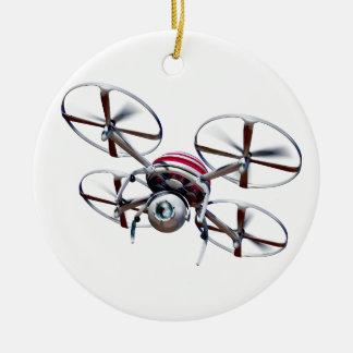 Drohne quadrocopter keramik ornament