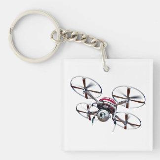 Drohne quadrocopter schlüsselanhänger