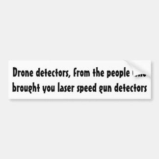 Drohnedetektoren, von den Leuten… Autoaufkleber