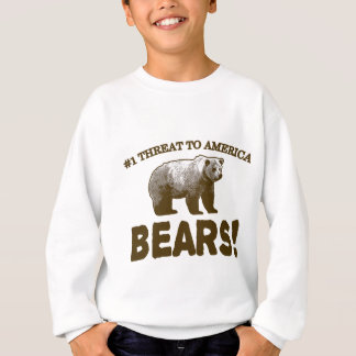 Drohung #1 nach Amerika: Bären! Sweatshirt