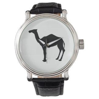 Dromedary-Silhouette Uhr