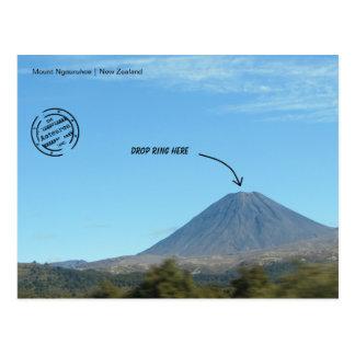 """Drop Ring Here"" Postkarte Postkarte"