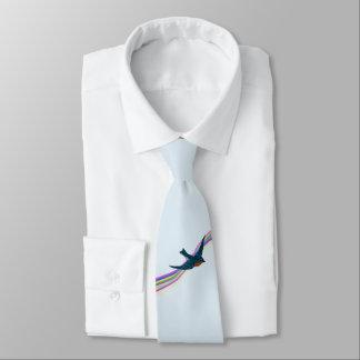 Drossel des Glückes Individuelle Krawatte