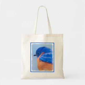 Drossel-Malerei - ursprüngliche Vogel-Kunst Tragetasche