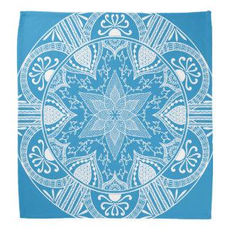 Drossel-Mandala Kopftuch