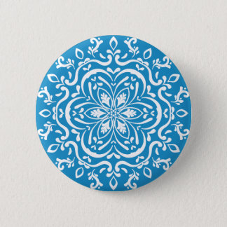 Drossel-Mandala Runder Button 5,1 Cm