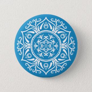Drossel-Mandala Runder Button 5,7 Cm
