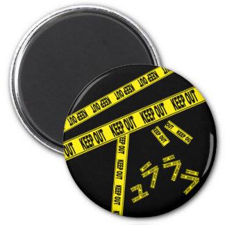 DRRR! BEHALTEN Sie HERAUS Magneten Runder Magnet 5,7 Cm