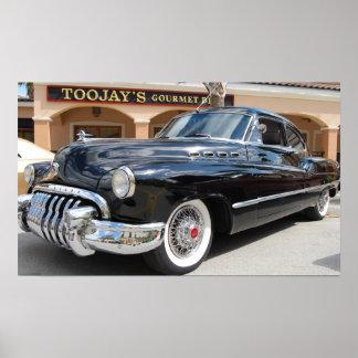 Druck 1950 Buicks acht Poster