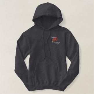 Druck 50 bestickter hoodie