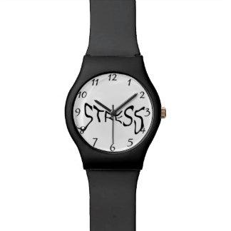 Druck Armbanduhr