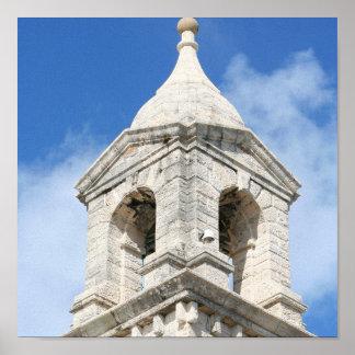 Druck Bermudas Clocktower Poster