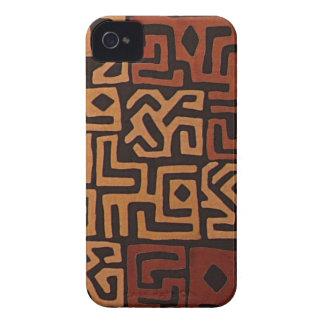 Druck Browns Stammes- iPhone Fall iPhone 4 Hüllen