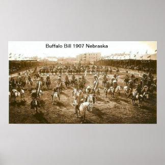 Druck Buffalo Bills 1907 Poster
