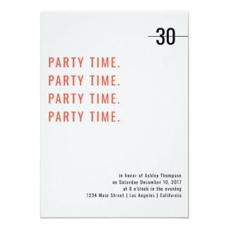 Druck-Entwurfs-Geburtstags-Einladung Karte