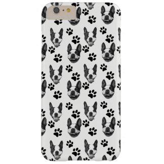 Druck-Telefon-Kasten Bostons Terrier Barely There iPhone 6 Plus Hülle
