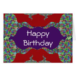 Druck-Text-Skript Innere alles Gute zum Geburtstag Karte
