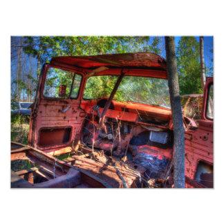 Druck X12 des Auto-Oxidation_2 16 Kunstfoto