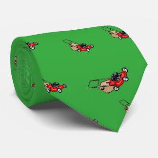 Drücken Sie Rasenmäher-Rot Krawatten