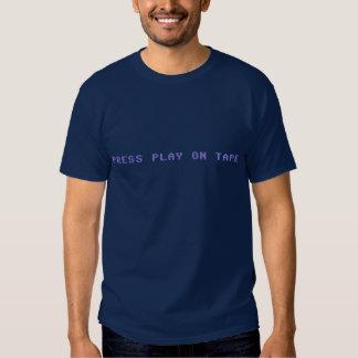 Drücken Sie Spiel auf T - Shirt des