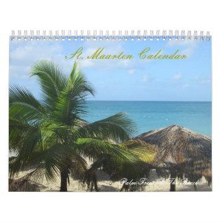 St. Maarten Custom Printed Photography Calendar