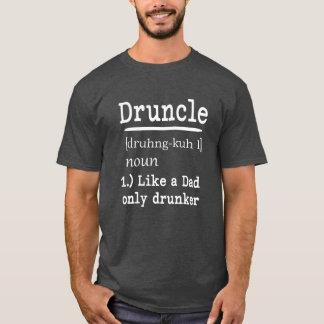 Druncle der lustigen Onkel-Shirt Sprichwortmänner T-Shirt
