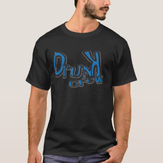 Drunkie blue T-Shirt