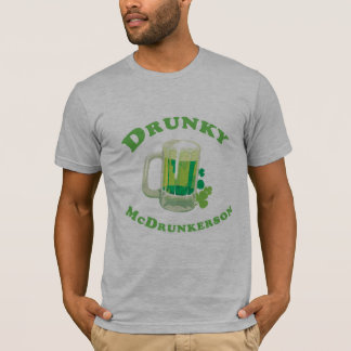 DRUNKY MCDRUNKERSON T - Shirt