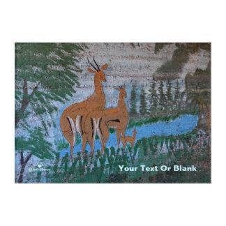 Druze-Straßen-Kunst - Gazelle Acryldruck