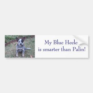 DSC00254, mein blaues Heeleris intelligenter als Autoaufkleber