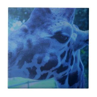 DSC_0729 (3).JPG blaue Giraffe durch Jane Howarth Keramikfliese
