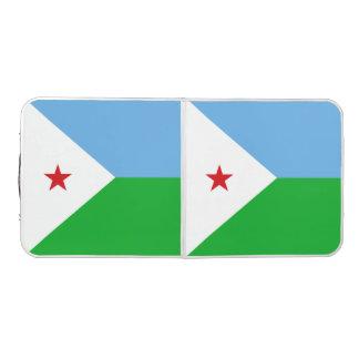 Dschibuti-Flagge Beer Pong Tisch