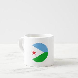 Dschibuti-Flagge Espressotasse