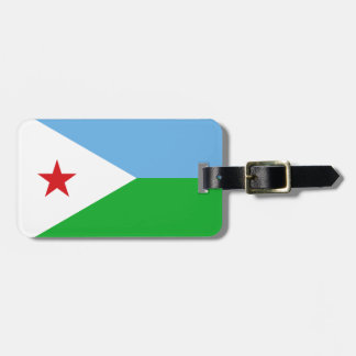 Dschibuti-Flagge Gepäckanhänger