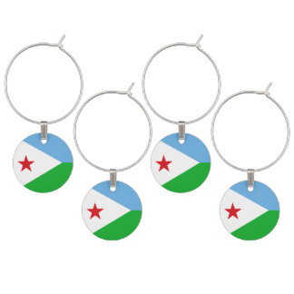 Dschibuti-Flagge Glasmarker
