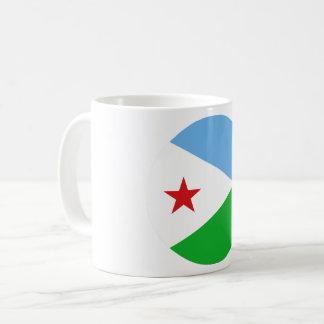 Dschibuti-Flagge Kaffeetasse