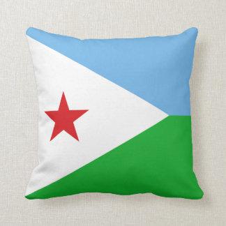 Dschibuti-Flagge Kissen
