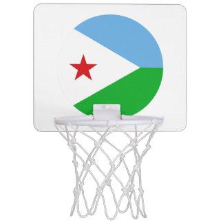 Dschibuti-Flagge Mini Basketball Netz