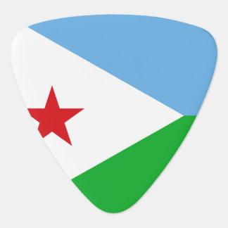 Dschibuti-Flagge Plektrum