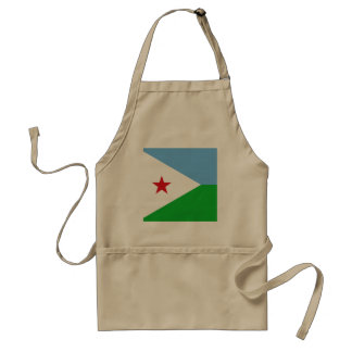 Dschibuti-Flagge Schürze