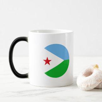 Dschibuti-Flagge Verwandlungstasse